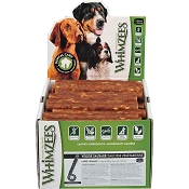 WHIMZEES Veggie Sausage Dental Dog Treats, Large, 50 Count Case
