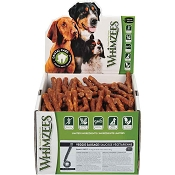WHIMZEES Veggie Sausage Dental Dog Treats, Small, 150 Count Case
