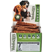 WHIMZEES Veggie Strip Dental Dog Treats, Medium, 100 Count Case
