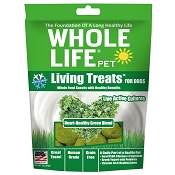 Whole Life Living Treats Heart-Healthy Green Blend Dog Treats, 3-oz bag