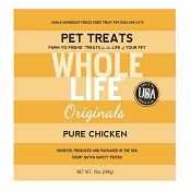 Whole Life Pure Chicken Freeze-Dried Dog Treats, 10 Ounces