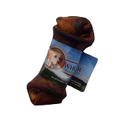 Wholesome Hide USA Rawhide Beef Basted Knotted Bone Dog Chew, 4-5