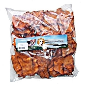 Wholesome Hide USA Bacon Basted Rawhide Chips Dog Chews, 1-lb Bag