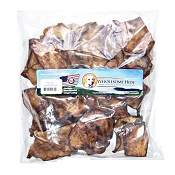 Wholesome Hide USA Beef Basted Rawhide Chips Dog Chews, 1-lb Bag