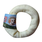 Wholesome Hide USA Rawhide Donut Dog Chew, 4