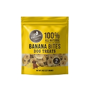 Wholesome Pride Banana Bites Dog Treats