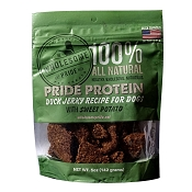Wholesome Pride Duck Jerky with Sweet Potato Dog Treats, 5-oz Bag