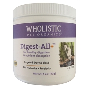 Wholistic Pet Organics Feline Digest All Plus Cat Supplement