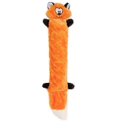 ZippyPaws Jigglers Fox Plush Dog Toy