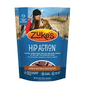 Zuke's Hip Action Peanut Butter & Oats Recipe Dog Treats, 6 Ounces