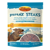 Zuke's PureNZ Steaks New Zealand Beef with Carrot Recipe Dog Treats