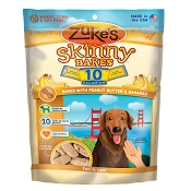 Zuke's Skinny Bakes Peanut Butter & Banana Crunch Dog Treats, 12-oz bag