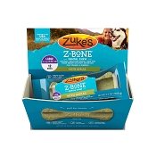 Zuke's Z-Bone Dental Chew with Apples Dog Treats, Large, 12-Count