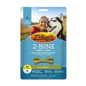Zuke's Z-Bone Dental Chew with Apples Dog Treats, Mini, 18-Count