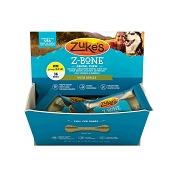 Zuke's Z-Bone Dental Chew with Apples Dog Treats, Mini, 36-Count