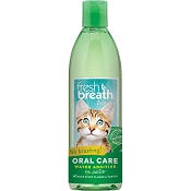 TropiClean Fresh Breath Oral Care Water Additive For Cats, 16-oz bottle