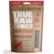 True Raw Choice Beef Liver Dehydrated Dog Treats, 5.3-oz Bag