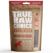 True Raw Choice Beef Stix Dehydrated Dog Treats, 4.2-oz Bag