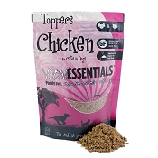 Vital Essentials Chicken Freeze-Dried Dog & Cat Food Topper, 6-oz bag