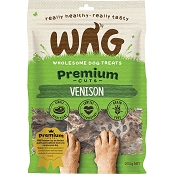 WAG Venison Jerky for Dogs, 200-Grams