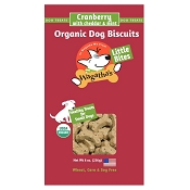 Wagathas Cranberry with Cheddar and Mint Little Bites Organic Dog Biscuits, 8-oz Box