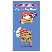 Wagatha's Super Berry Recipe Little Bites Organic Dog Biscuits, 8-oz Box