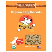 Wagatha's Vermont Pumpkin Pie Recipe Organic Dog Biscuits, 16-oz Box