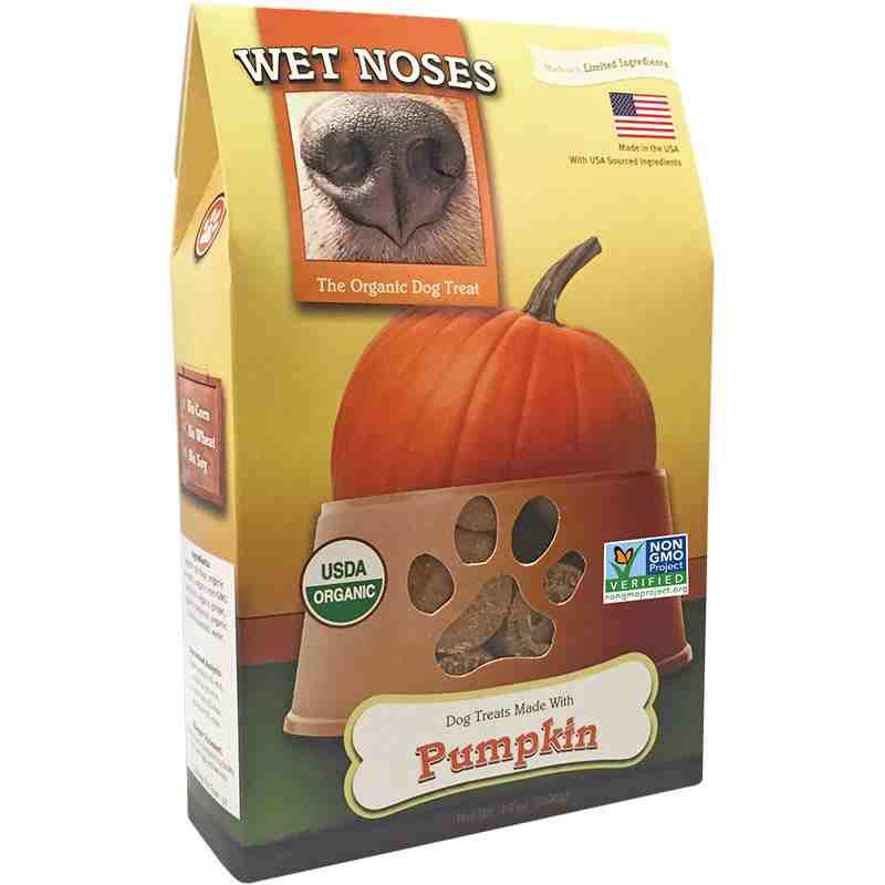 Wet Noses Pumpkin Dog Treats Naturalpetwarehouse Com
