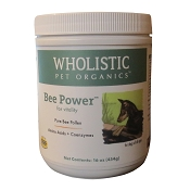 Wholistic Pet Organics Bee Power Dog Supplement