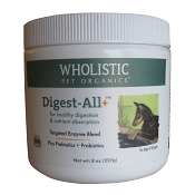 Wholistic Pet Organics Digest All Plus Dog Supplement, 8 oz
