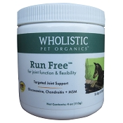 Wholistic Pet Organics Run Free Dog Joint Supplement