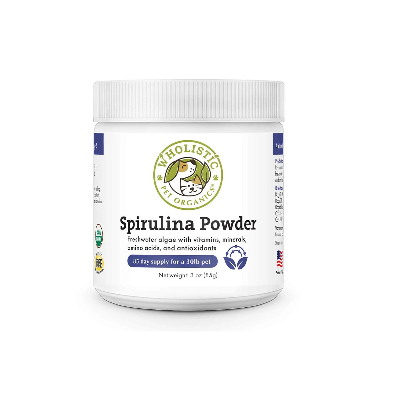 Wholistic Pet Organics Spirulina Supplement For Dogs