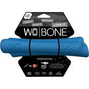 WO Bone USA Dog Toy, Blue, Small