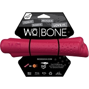 WO Bone USA Dog Toy, Cranberry, Medium/Large
