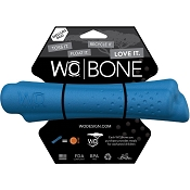 WO Bone USA Dog Toy, Blue, Medium/Large