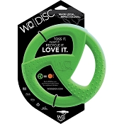 WO Disc USA Dog Toy, Green