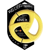 WO Disc USA Dog Toy, Yellow