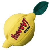 Yeowww! Catnip Lemon Cat Toy
