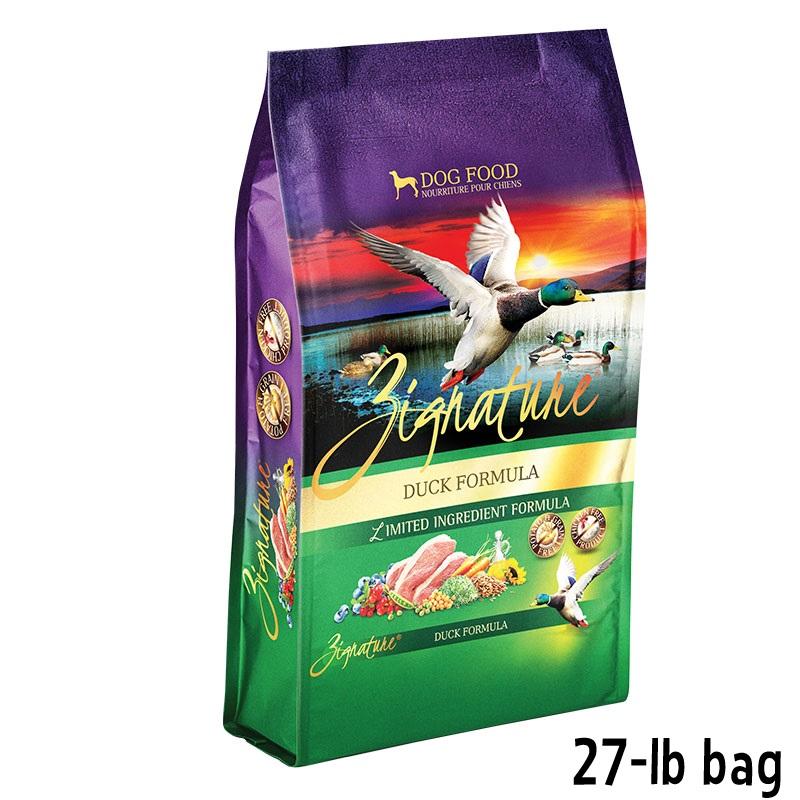 Zignature Duck Dog Food Lb