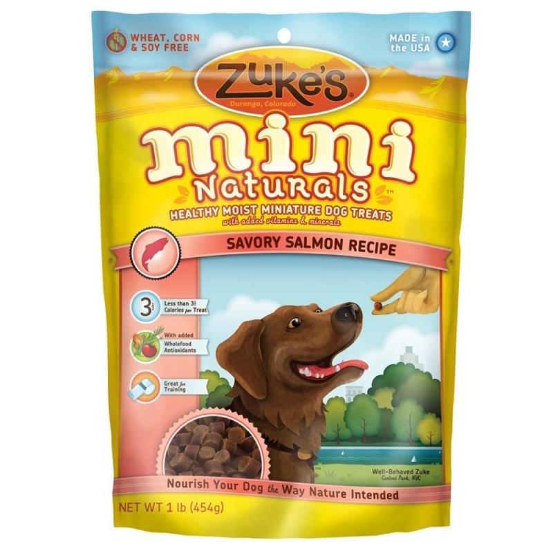 Zuke S Mini Naturals Dog Treats Salmon Lb