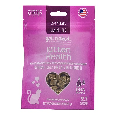 Get Naked Kitten Health Grain-Free Soft Cat Treats