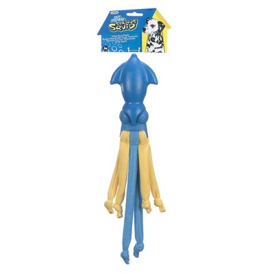 JW Pet Serious Squid LARGE Dog Toy