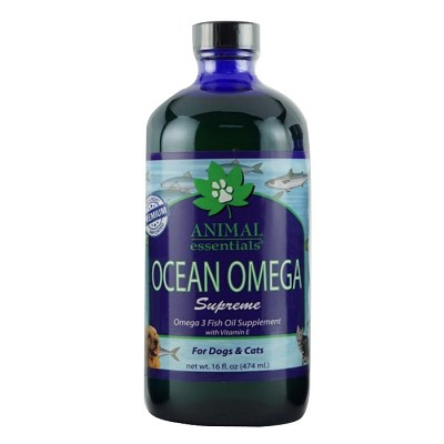 Animal essentials ocean omega supreme fish oil dog for Fish oil capsules for dogs