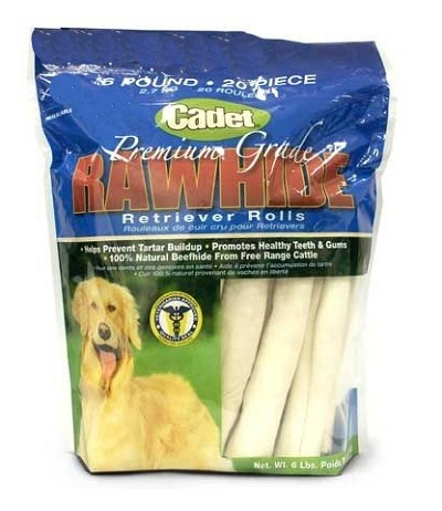 Cadet Dog Treats Retriever Rolls 20 Pack