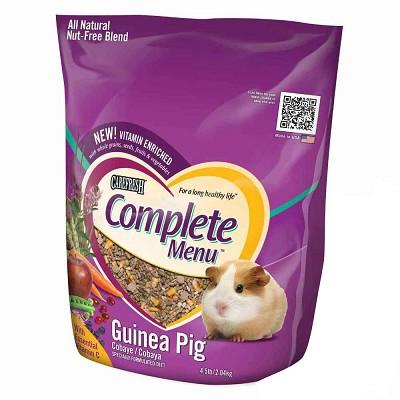 Carefresh Complete Menu Guinea Pig Food