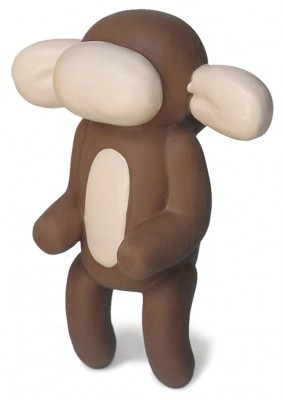 Charming Pet Balloon Murray the Monkey Dog Toy - Small