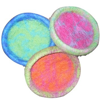 Discontinued, A Cheerful Pet Frizees Wool Frisbee Toys for Dogs
