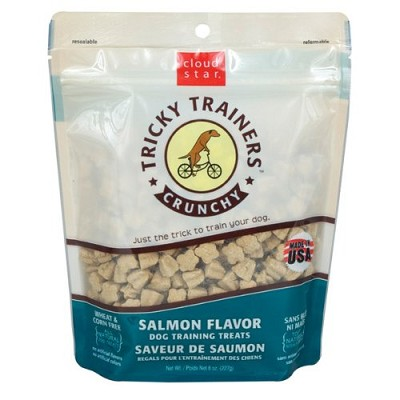 Cloud Star Crunchy Tricky Trainers Salmon Flavor Dog Treats