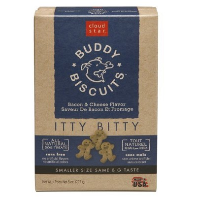 Cloud Star Itty Bitty Buddy Biscuits Bacon & Cheese Flavor Dog Treats