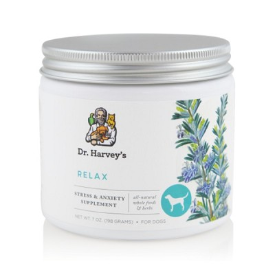 Dr. Harvey's Relax and Stress Dog Anxiety Relief Supplement